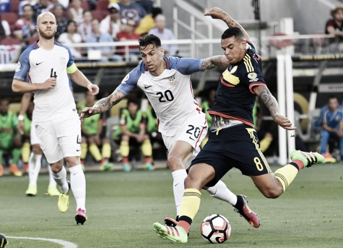 Sem sustos, Colômbia vence os Estados Unidos na abertura da Copa América Centenário