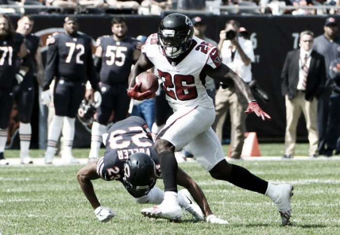 Finalista do último Superbowl, Falcons vai até Chicago e vence Bears