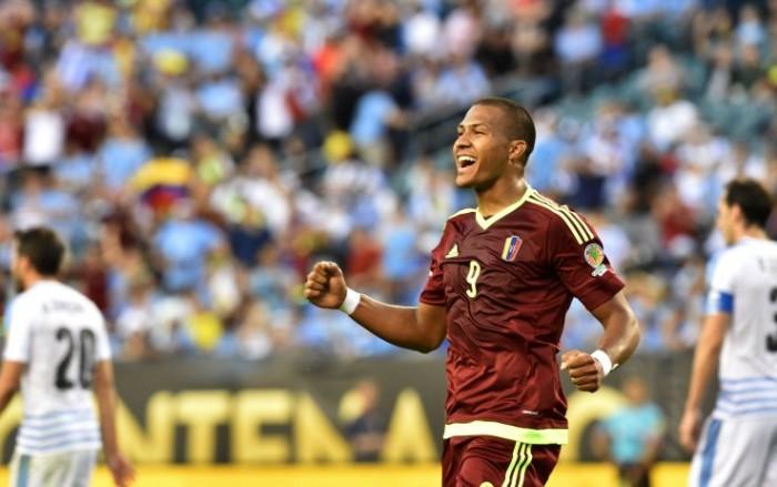 Copa America Centenario - Rondon elimina l'Uruguay e fa volare il Venezuela ai quarti (1-0)