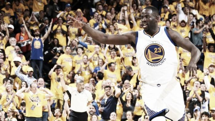 Draymond Green brilha, Warriors vencem Cavaliers e ampliam placar na final da NBA