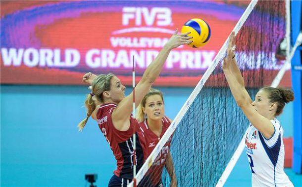 Volley, Gran Prix: Stati Uniti di altra pasta, l'Italia cade ancora