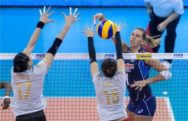 Volley, Gran Prix: primo successo azzurro, l'Italia supera la Cina al tie-break
