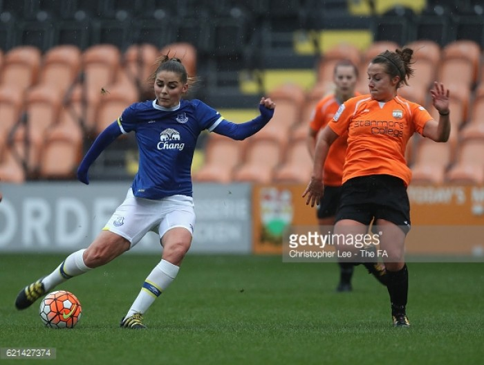 London Bees 3-4 Everton: Second-half goal fest