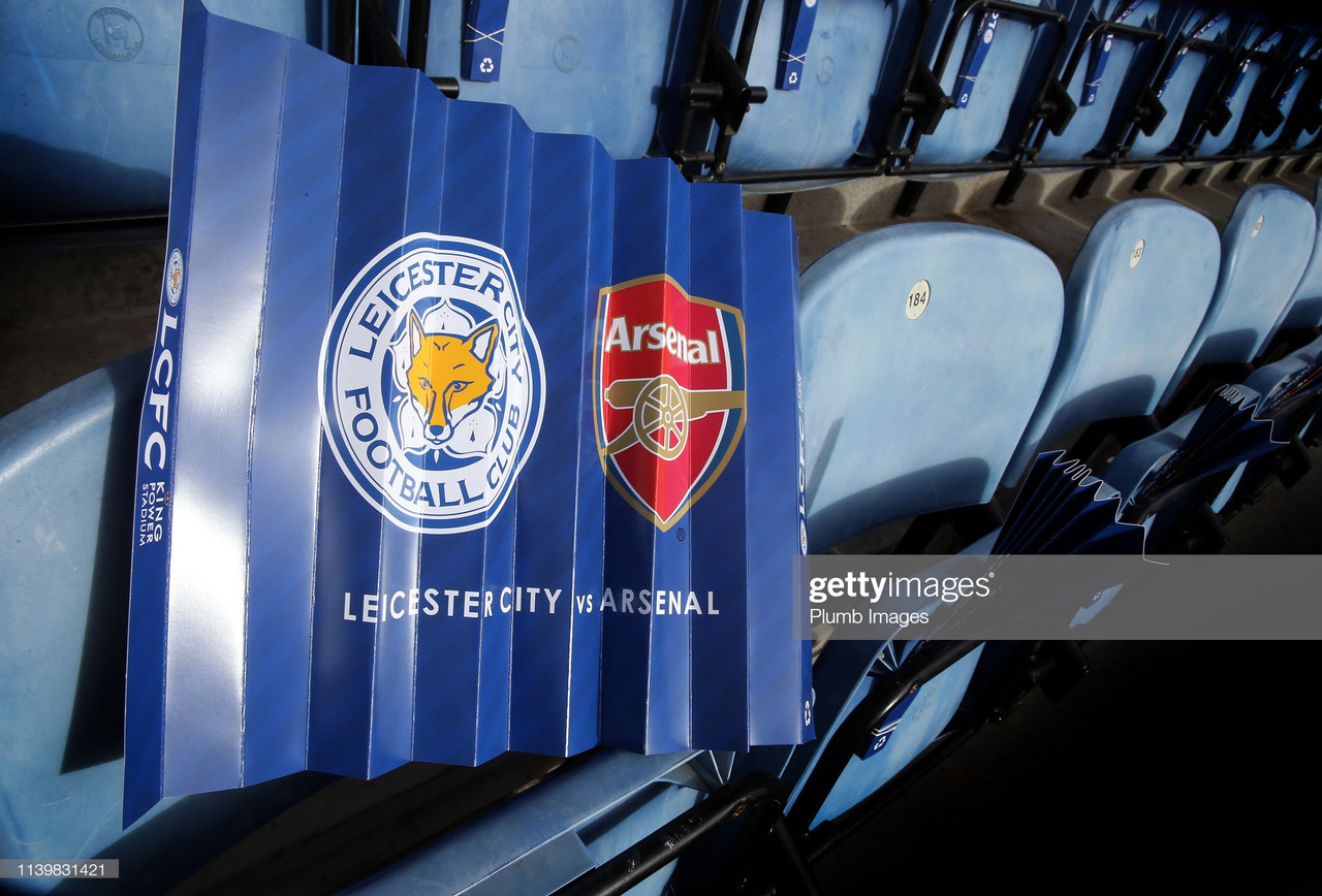 As it happened: Ruthless Leicester dent Arsenal's top four hopes once more