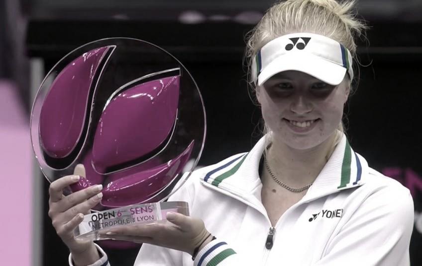 Tauson gana el torneo de Lyon y su primer título con 18 años