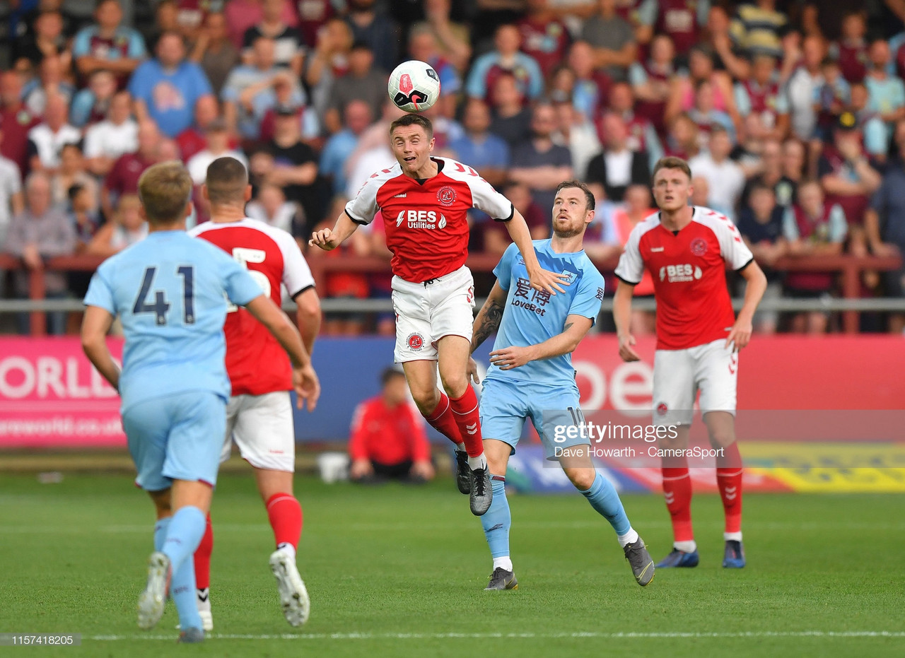 Fleetwood Town 0-2 Burnley: The Clarets pre-season preparations continued with win at Highbury