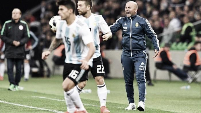 """Jorge Sampaoli: """"Argentina tuvo la voluntad para intentar cambiar la historia"""""""