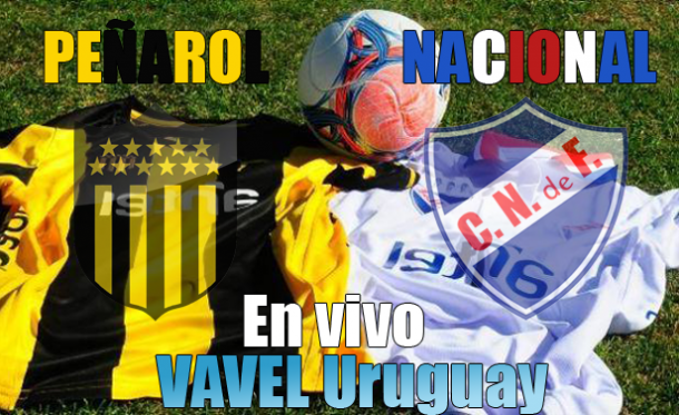 Resultado Peñarol - Nacional 2014 (5-0)