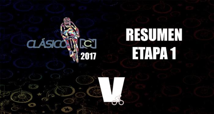 Jairo Cano se impuso en la primera etapa del Clásico RCN 2017