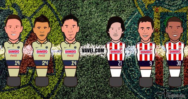 América - Chivas: empujar al odiado rival hacia el abismo