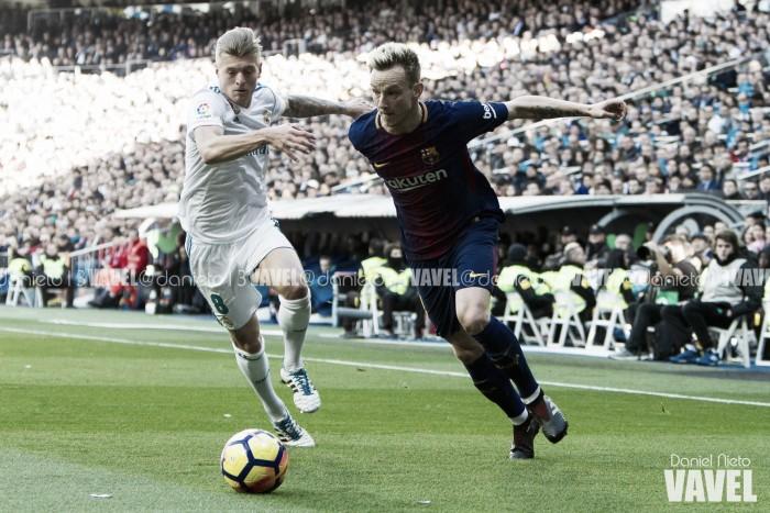 Real Madrid - FC Barcelona: 0-3, golpe de autoridad del Barcelona a La Liga.