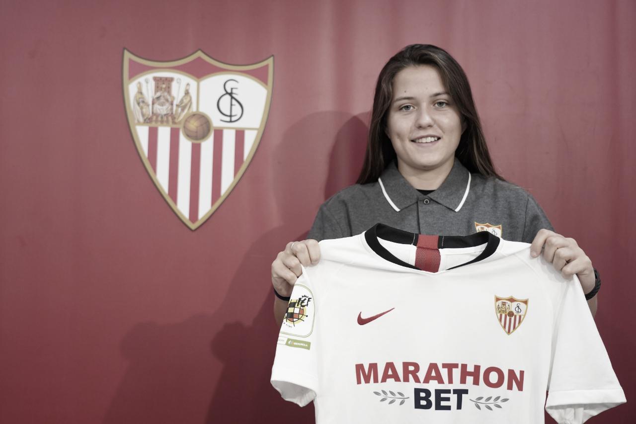 Claudia Pina, efectividad y juventud para el Sevilla FC Femenino