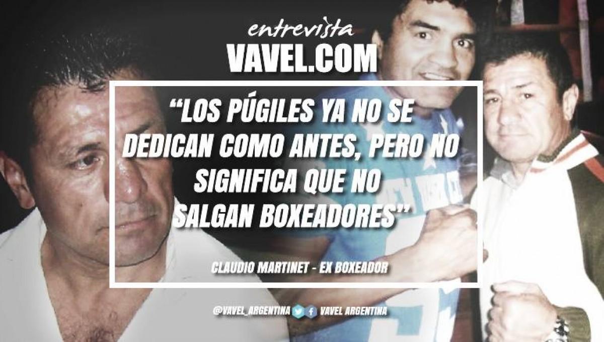 """Entrevista. Claudio Martinet: """"El boxeo argentino está en un cambio constante"""""""
