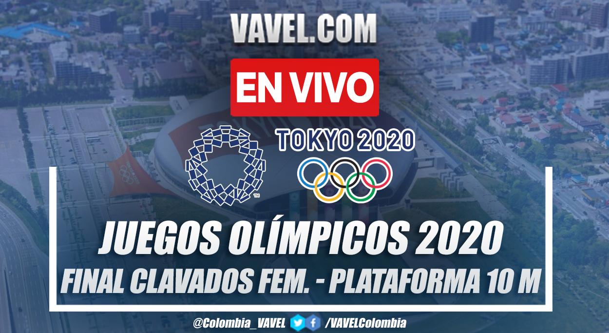 Resumen: Final Clavados Femenil Plataforma 10m en Tokio 2020