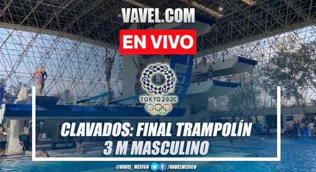 Resumen y mejores momentos de Rommel Pacheco en Final Clavados Trampolín 3 m en Tokio 2020