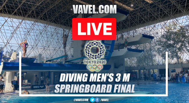 Highlights and Best Moments: Diving Men's 3 m springboard final in Tokyo 2020