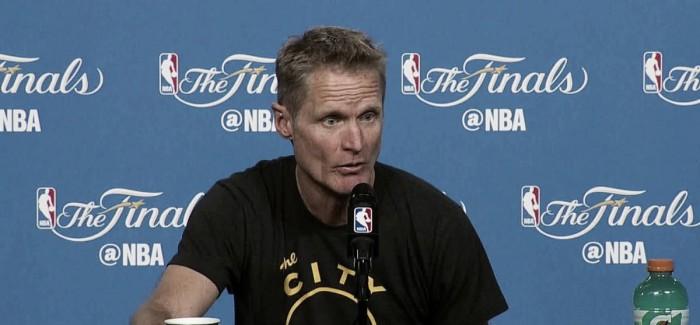 """Steve Kerr comemora retorno de Green, mas lamenta perda de Bogut: """"Vamos sentir falta"""""""