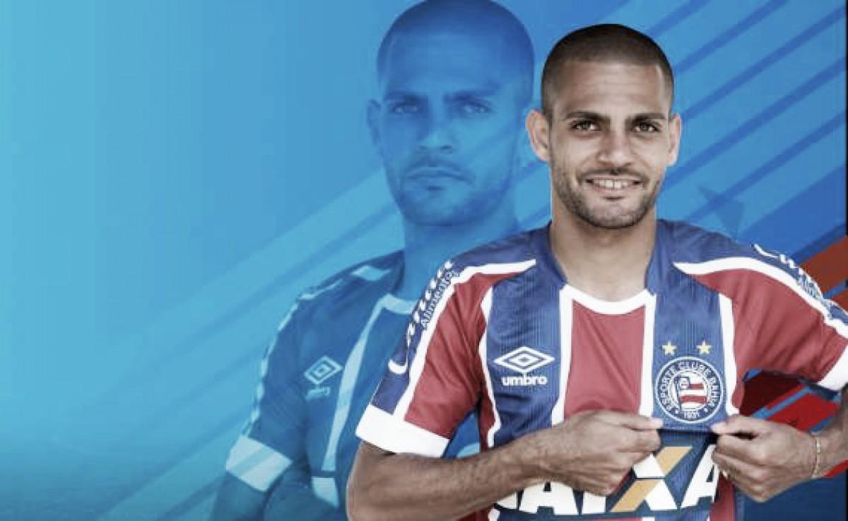 Bahia anuncia contratação de Clayton, ex-Atlético-MG, por empréstimo