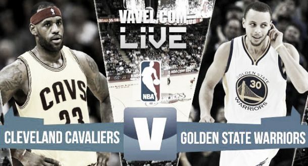 Cleveland Cavaliers vs Golden State Warriors, NBA en vivo y en directo online