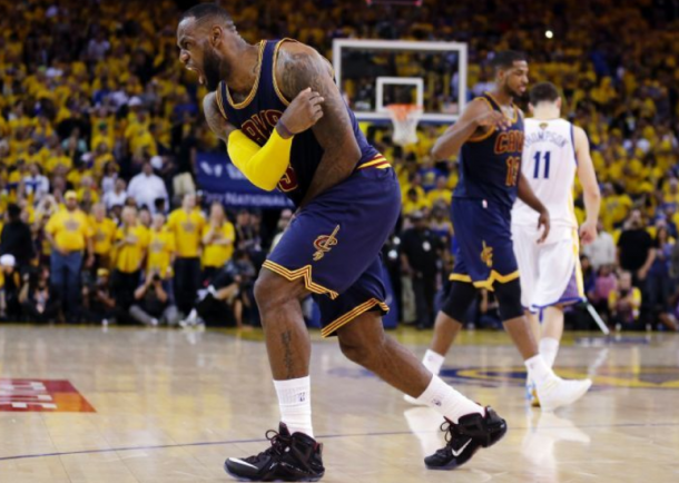 LeBron James' Triple-Double Leads Shorthanded Cavaliers Past Warriors In Game 2