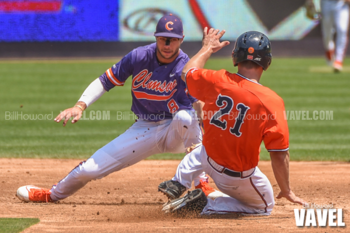 2016 ACC Baseball Tournament: #6 Clemson upsets #3 Virginia 5-4 with ninth inning tally