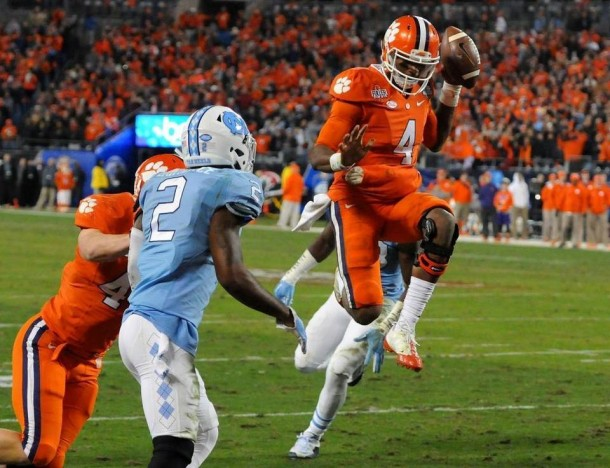 Clemson Tigers Escape UNC Tar Heels 45-37 To Win ACC Title, Seal Spot In Playoff