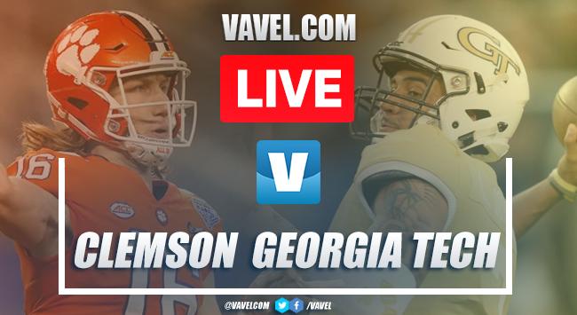 Touchdowns and video highlights: Clemson 52-14 Georgia Tech