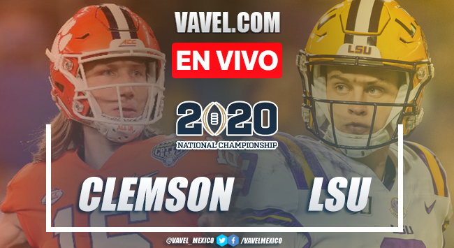 Resumen y Touchdowns: Clemson Tigers 25-42 en Campeonato Final NCAA 2020