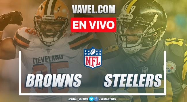 Resumen y touchdowns: Cleveland Browns 13-20 Pittsburgh Steelers en NFL 2019
