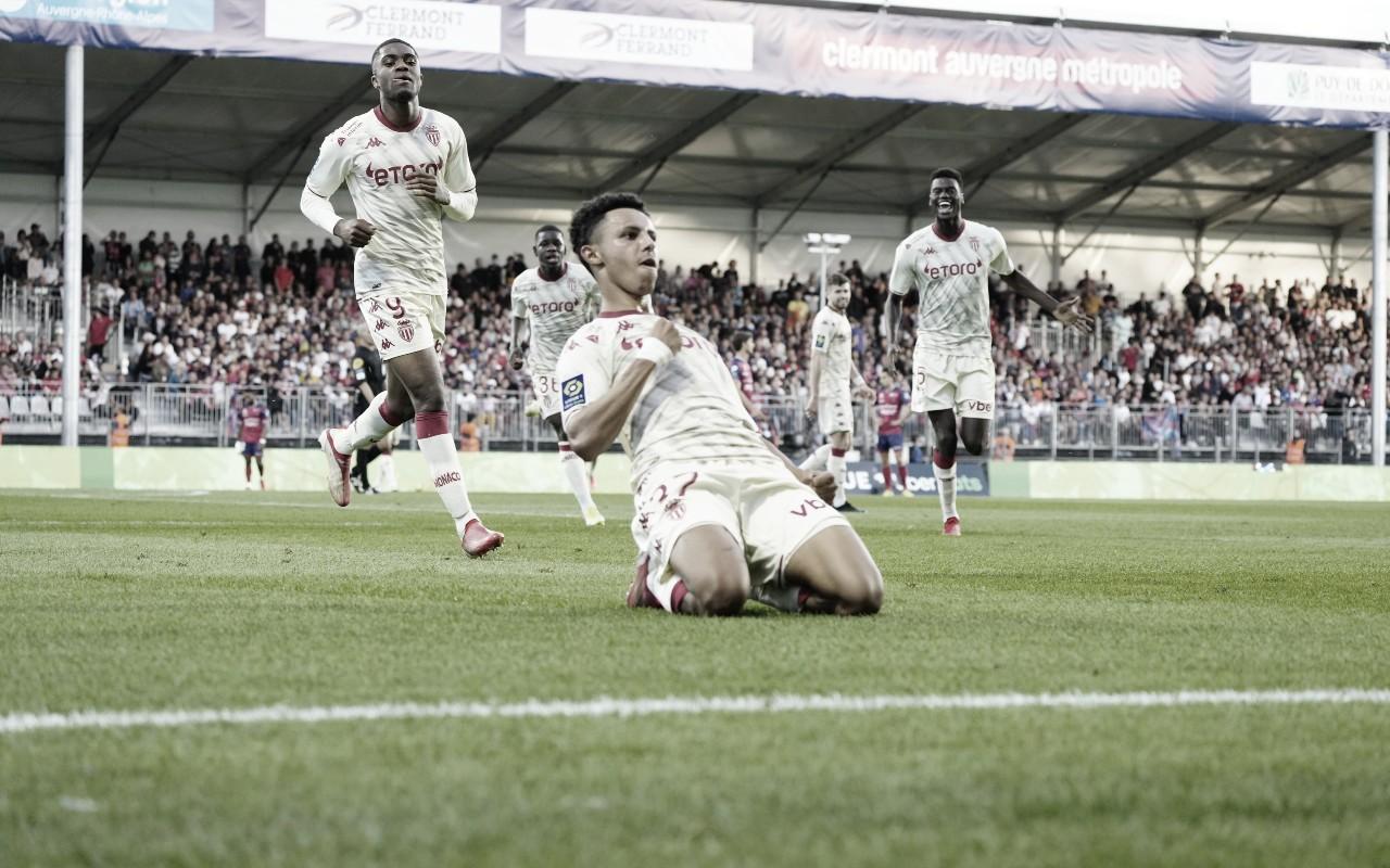 Monaco vence Clermont de virada na Ligue 1