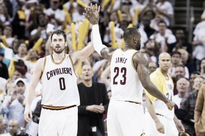Cleveland obtuvo la ventaja inicial
