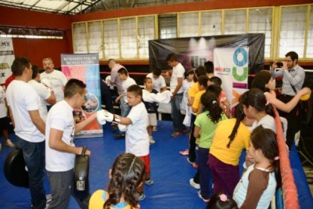'Boxeando por un México Seguro' continúa exitosamente