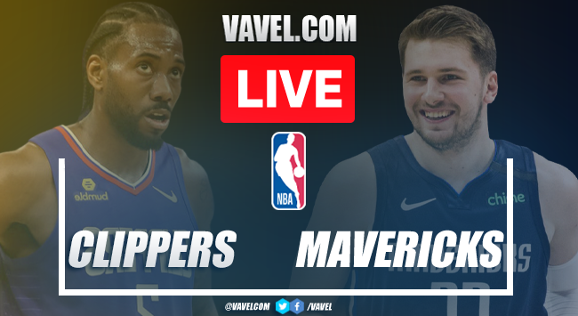 Highlights of Mavericks 111-126 Clippers on 7th Game NBA 2021