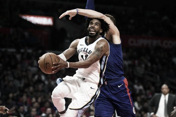 Memphis se recuperó ante Clippers