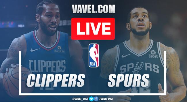 Los Angeles Clippers vs. San Antonio Spurs Live Blog