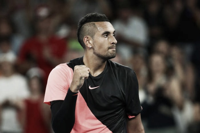 Australian Open: Nick Kyrgios eases into round three