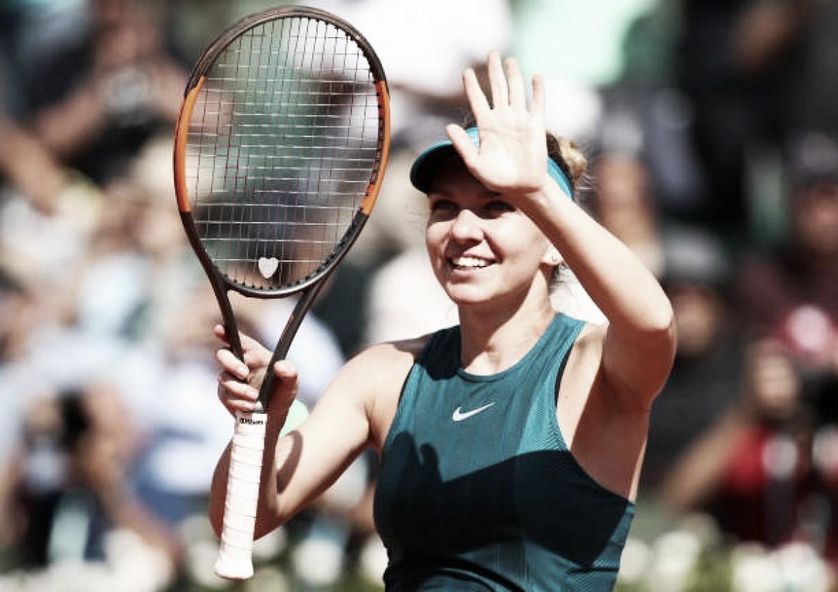 French Open: Simona Halep beats Garbine Muguruza to reach third Roland Garros final