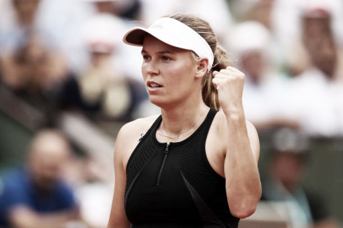 French Open: Caroline Wozniacki impresses in opening round victory