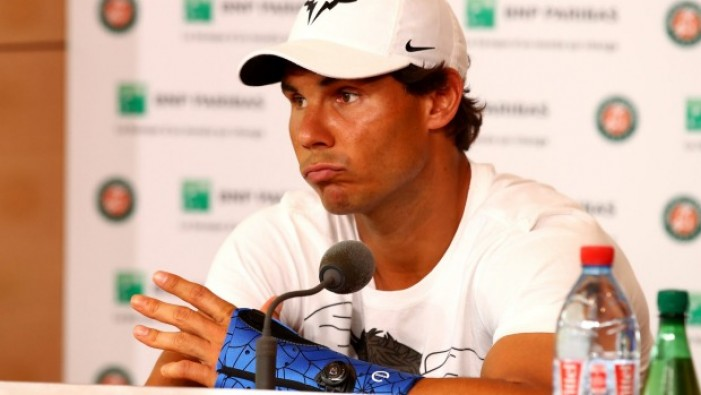 Rafael Nadal withdraws from the AEGON Championships