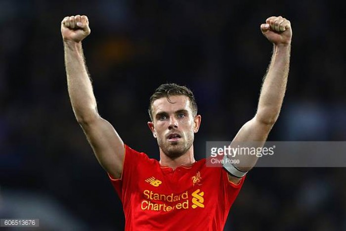 Jordan Henderson pleased to make a return from injury as Liverpool beat Tranmere 4-0