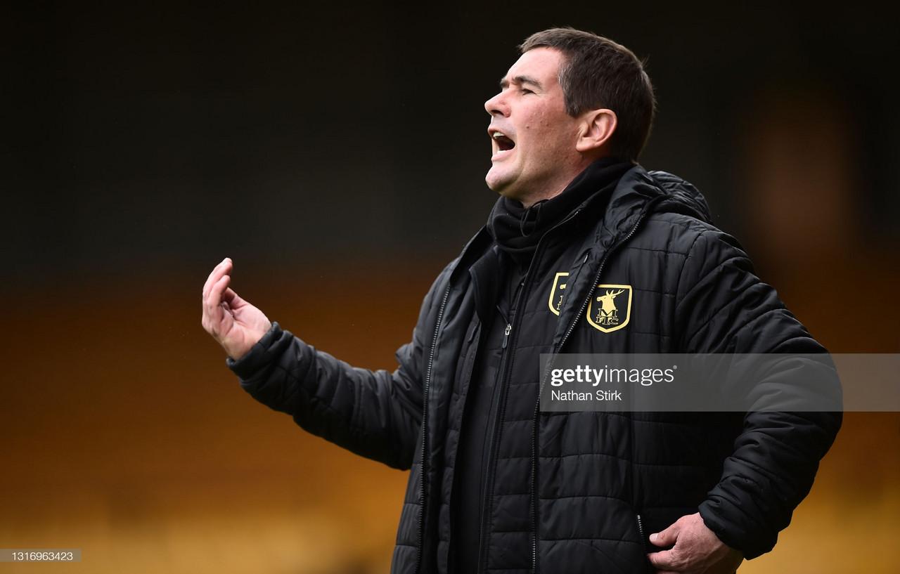 Mansfield Town pursue long-awaited promotion under Clough's stewardship