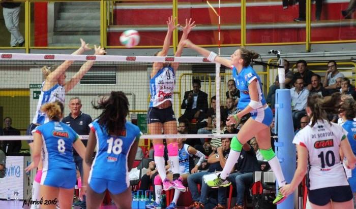 Volley, A1 femminile - La prima giornata della stagione 2016/2017, il riassunto