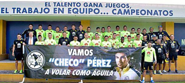 América apoya a 'Checo' Pérez