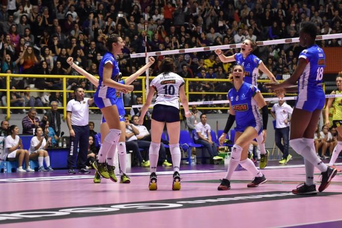 Volley, A1 femminile - La nona giornata non stupisce