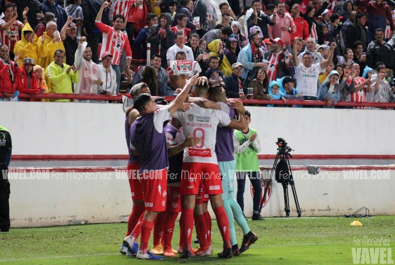 Puntuaciones de Necaxa en la jornada 14 del Apertura 2019 de la Liga MX