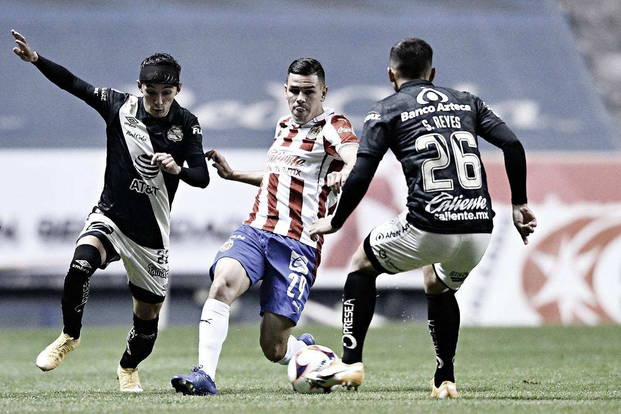 Puebla y Chivas reparten puntos en el inicio del Clausura 2021