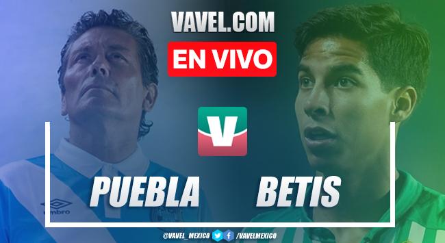 Resumen y goles Puebla 2-0 Betis en partido Aniversario 75