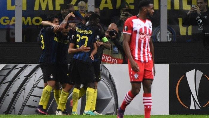 Risultato Southampton - Inter in Europa League 2016/17 - Icardi, Van Dijk, Nagatomo (A)! (2-1)