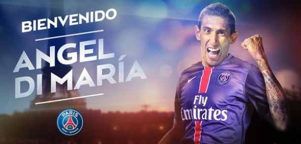 Di Maria signe 4 ans à Paris (officiel)