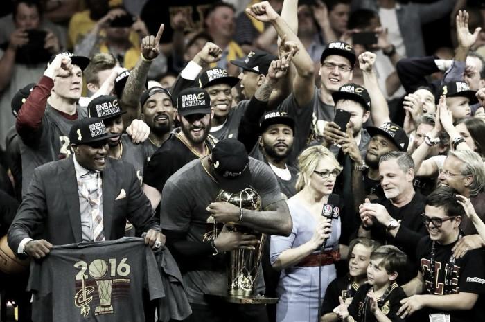 Cavaliers fazem história, batem Warriors e conquistam título da NBA pela primeira vez